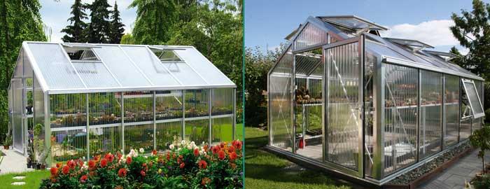 BECKMANN Gewächshäuser Plantarium PLAN 7 und PLAN 12 Ihr Spezialist für Gartenartikel und Gewächhäuser.